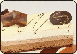 Gateau anniversaire au 3 chocolat